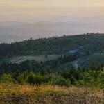 """Paysages : """"Chaîne des Puys au coucher du soleil"""""""