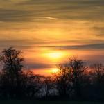 """Ciels : """"Ciel de feu au soleil couchant"""""""