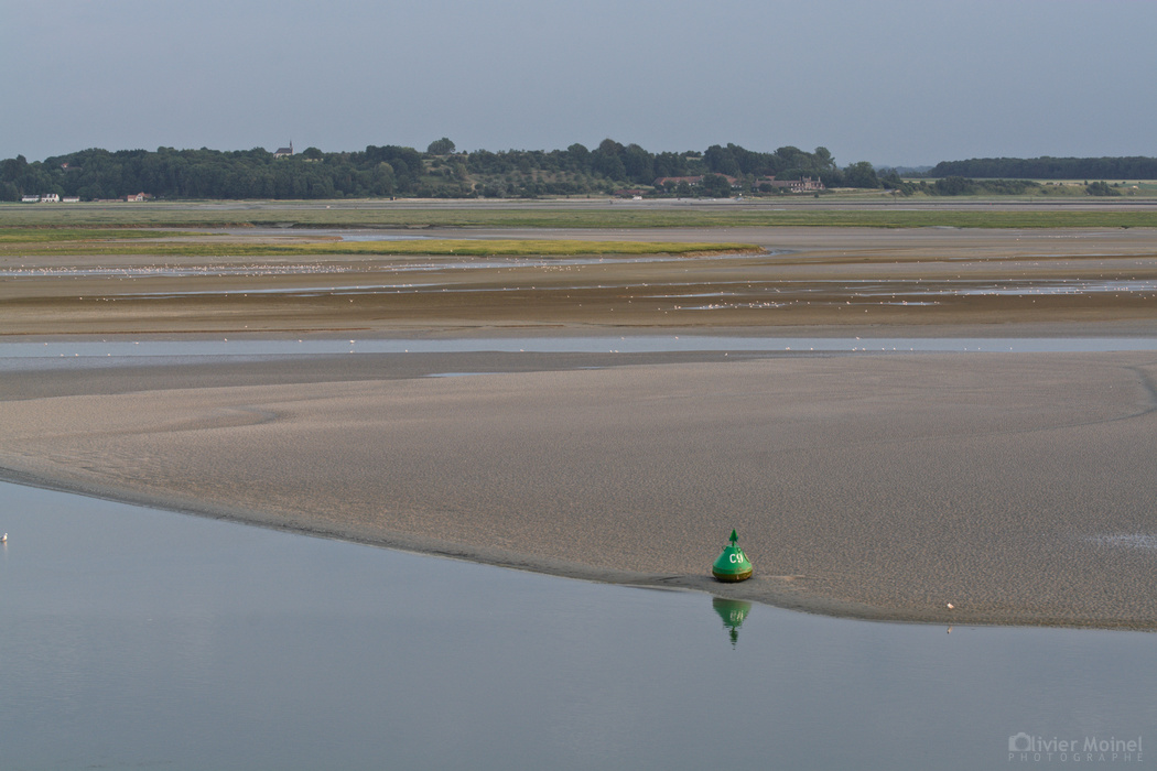 Le temps se couvre sur la baie de Somme