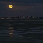 Pleine lune en baie de Somme